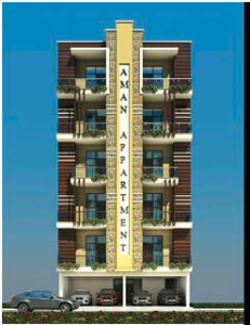 Saj Realtech Aman Appartment, Sector-73