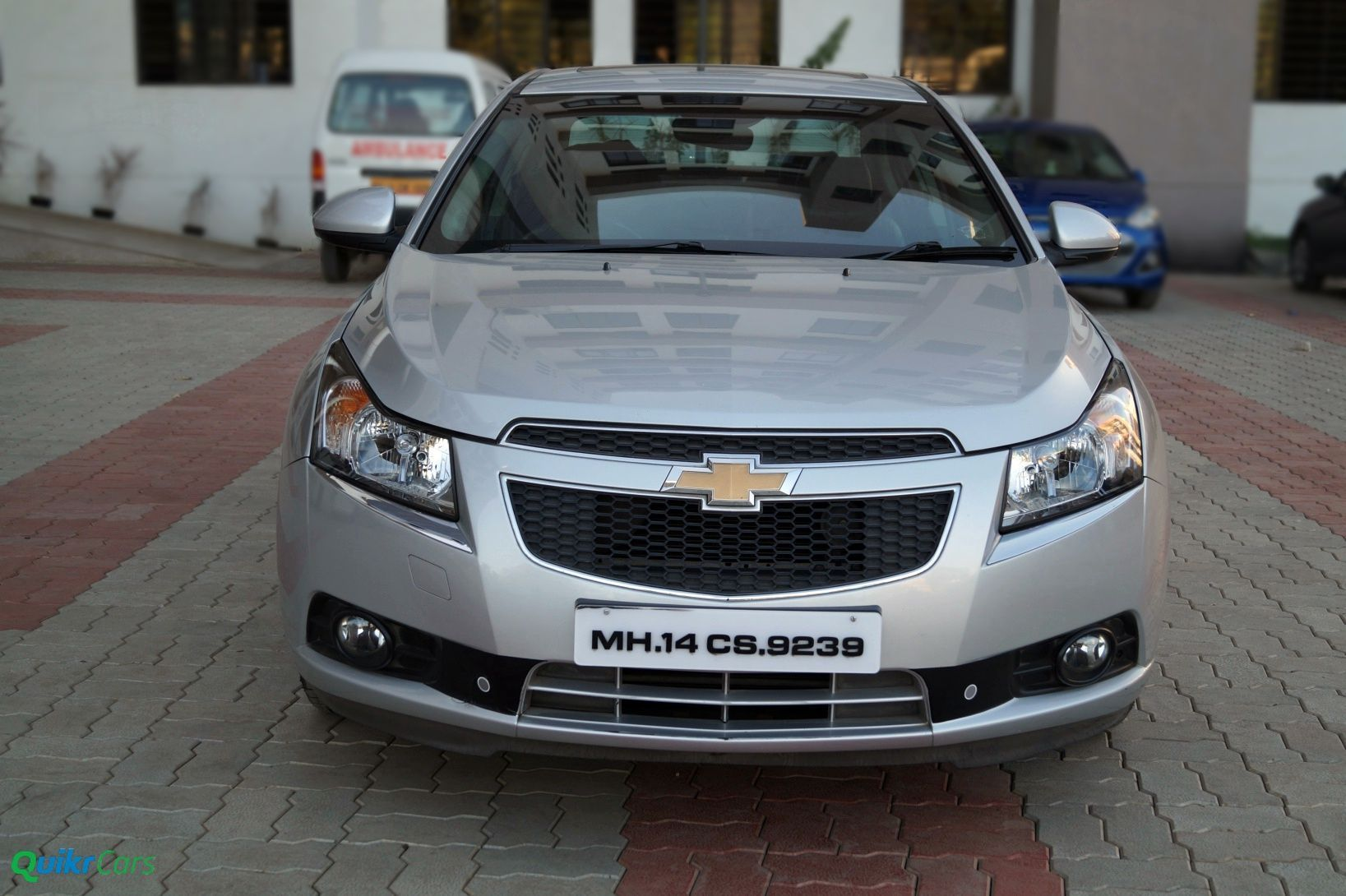 Chevy cruze front