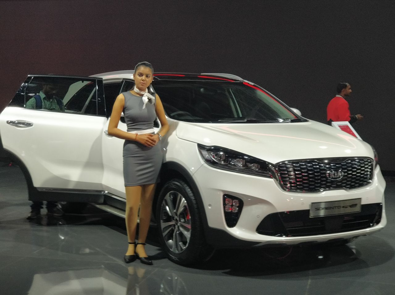 KIA8217s product line-up at Auto Expo 2018