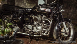 Royal Enfield Side Number Plate | QuikrCars Kerala