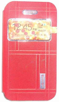 Usams Flip Case for Apple Apple iPhone 5s (Red)