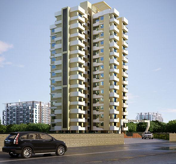 Raunak Heights, Ghodbunder Road, Thane