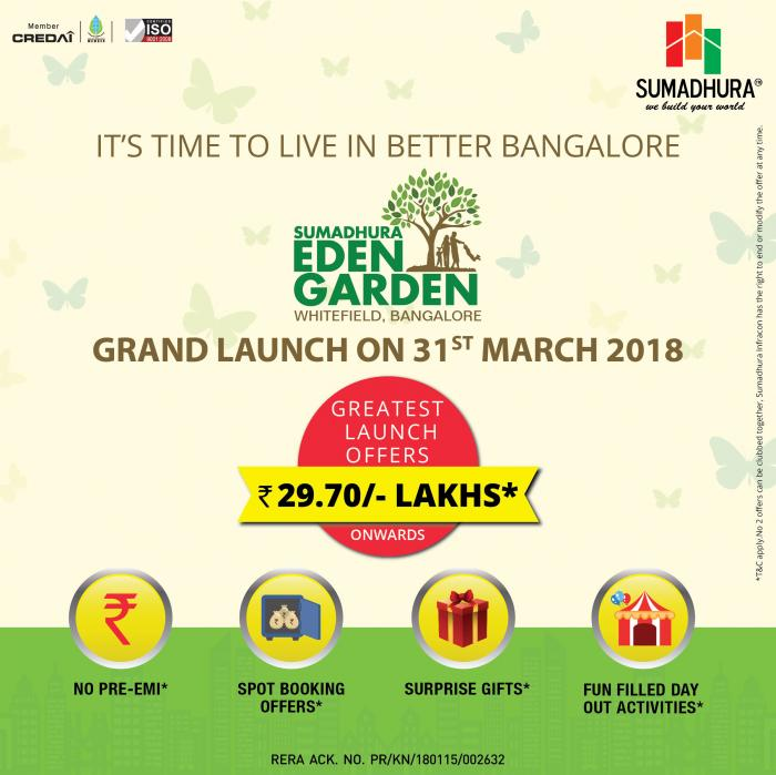 Sumadhura Eden Garden, Whitefield, Bangalore